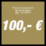 100,- € Geschenkgutschein